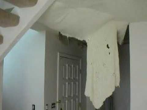 Removing Popcorn Ceilings That Have Been Painted