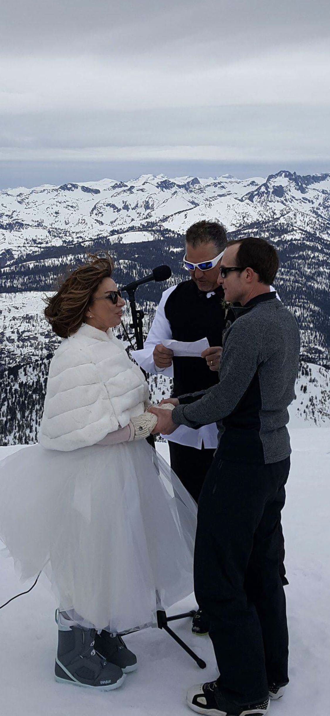 On top of Mammoth Mountain (With images) Wedding dresses