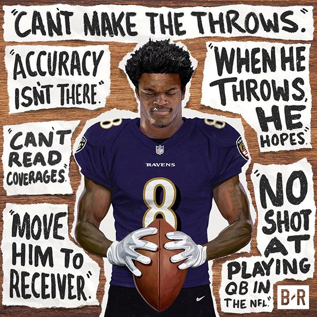 The Hen On Instagram Never Let Anyone Kill Your Dreams Keep Believing In Yourself When No One In 2020 Baltimore Ravens Football Ravens Football Lamar Jackson Ravens