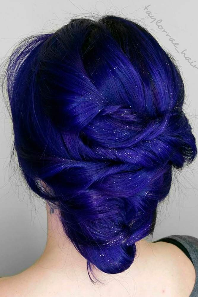27 Chic And Sexy Blue Hair Styles For A Brave New Look Blue Hair