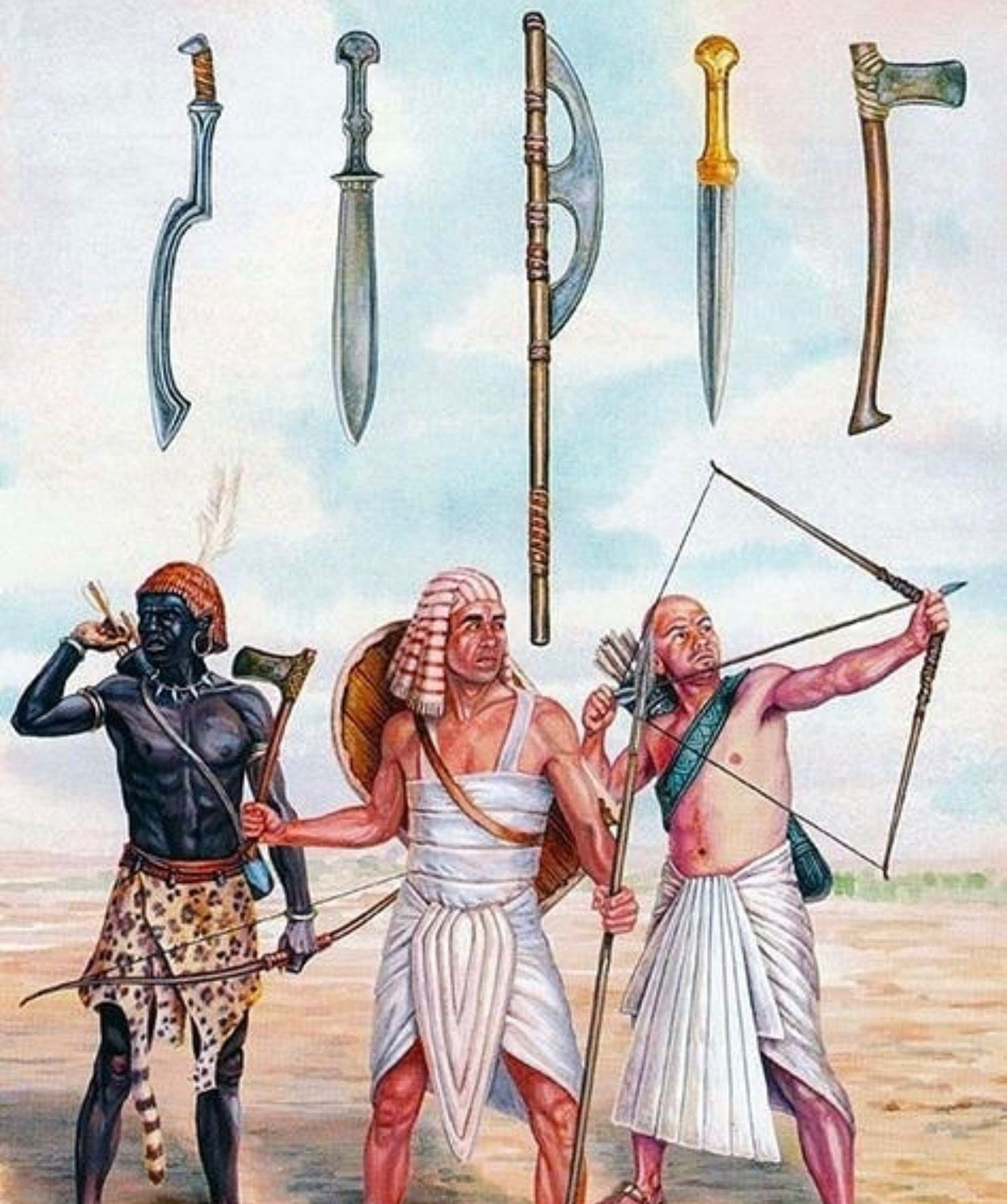 картинки египетского воина качественное нанесение
