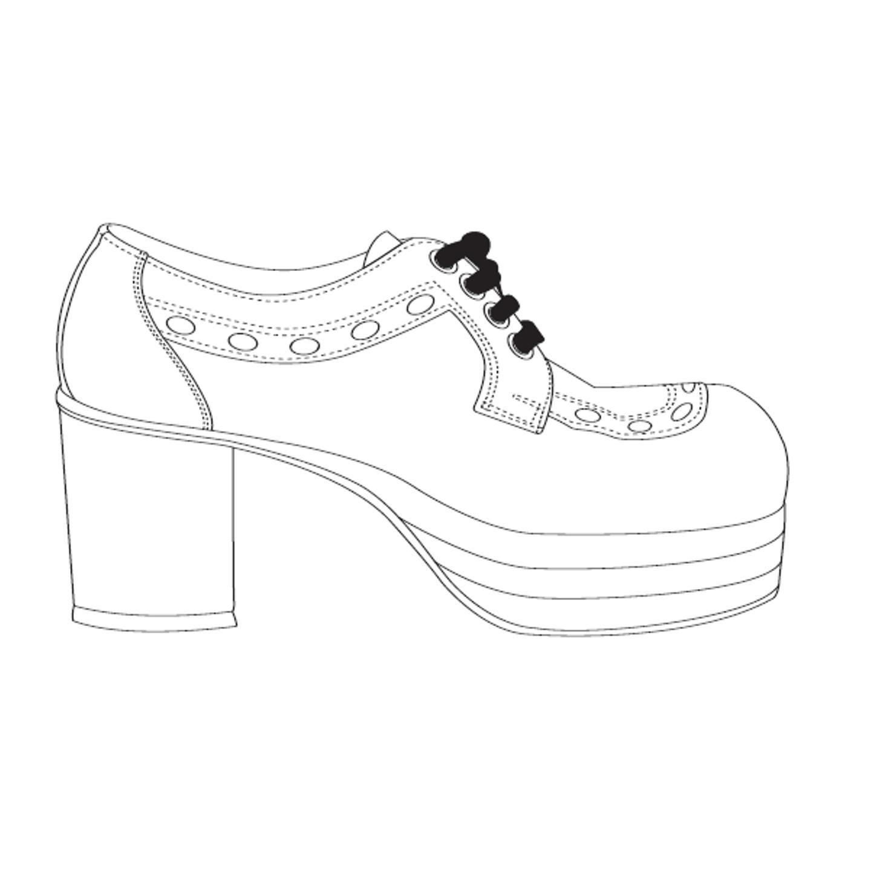 раскраска туфельки распечатать нетерпением ждем того