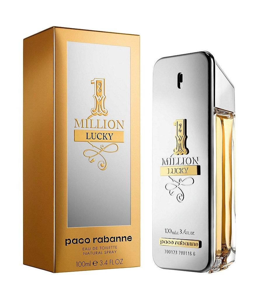 1 Million Lucky Cologne By Paco Rabanne Men Perfume Paco Rabanne Best Mens Cologne