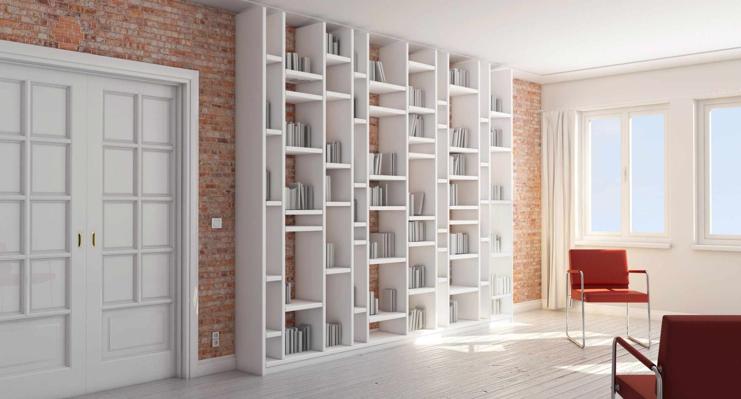 Tremendous Bücherregal Weiß Holz Photo Of Design Bücherregal Individuell Konfiguriert Bei Pickawood. Hochwertiges