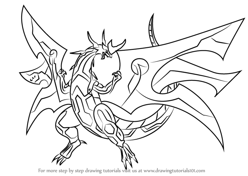 Bakugan Tigrerra Anime Coloring Pages For Kids Printable Free Coloring Pages For Kids Coloring Pages Coloring For Kids