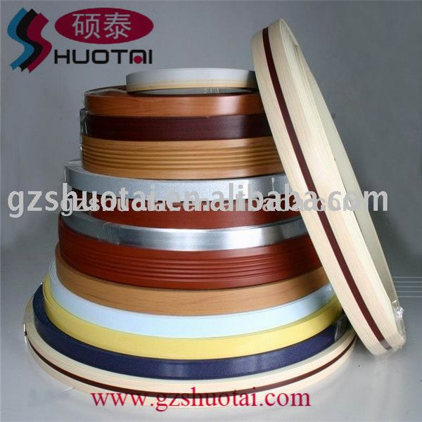 Colored PVC edge, Plstic Edge Banding, View Plstic Edge