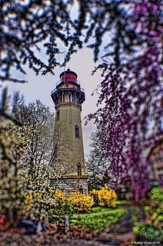 """""""You were born with wings, why prefer to crawl through life?"""" ~ Rumi Staten Island Range Light, Staten Island, New York"""