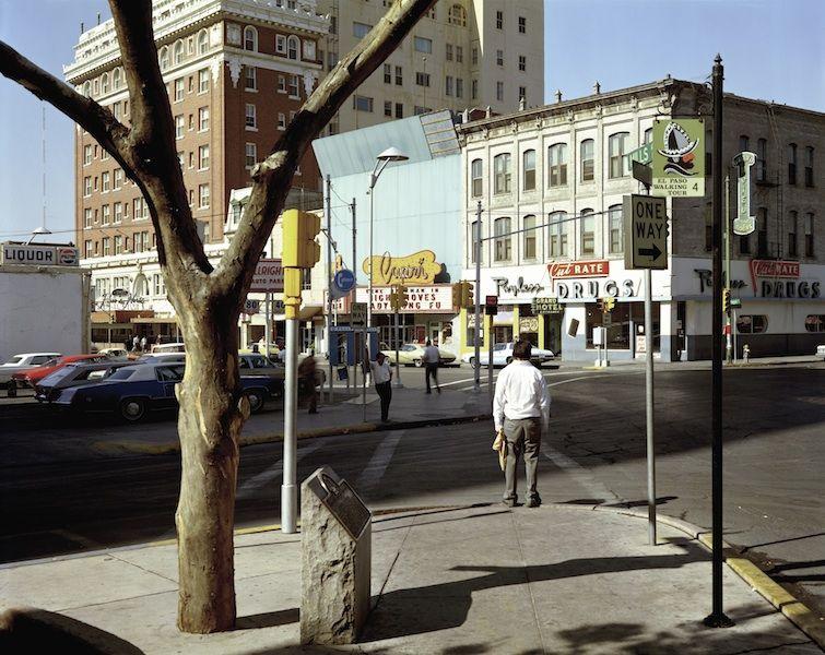 Exposure El Paso Street El Paso Texas Photographed By Stephen Shore Stephen Shore Street Photography History Of Photography