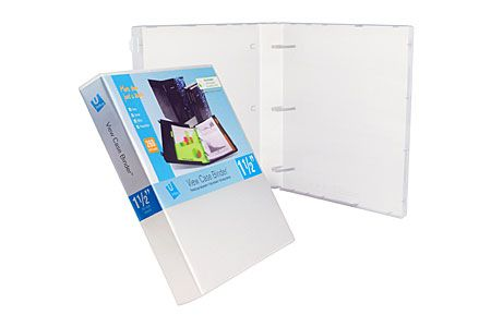 View Binder 1 5 Inch 3 Ring Bulk Sold Empty Case Of 15 Case It Binders Paper Organization Case