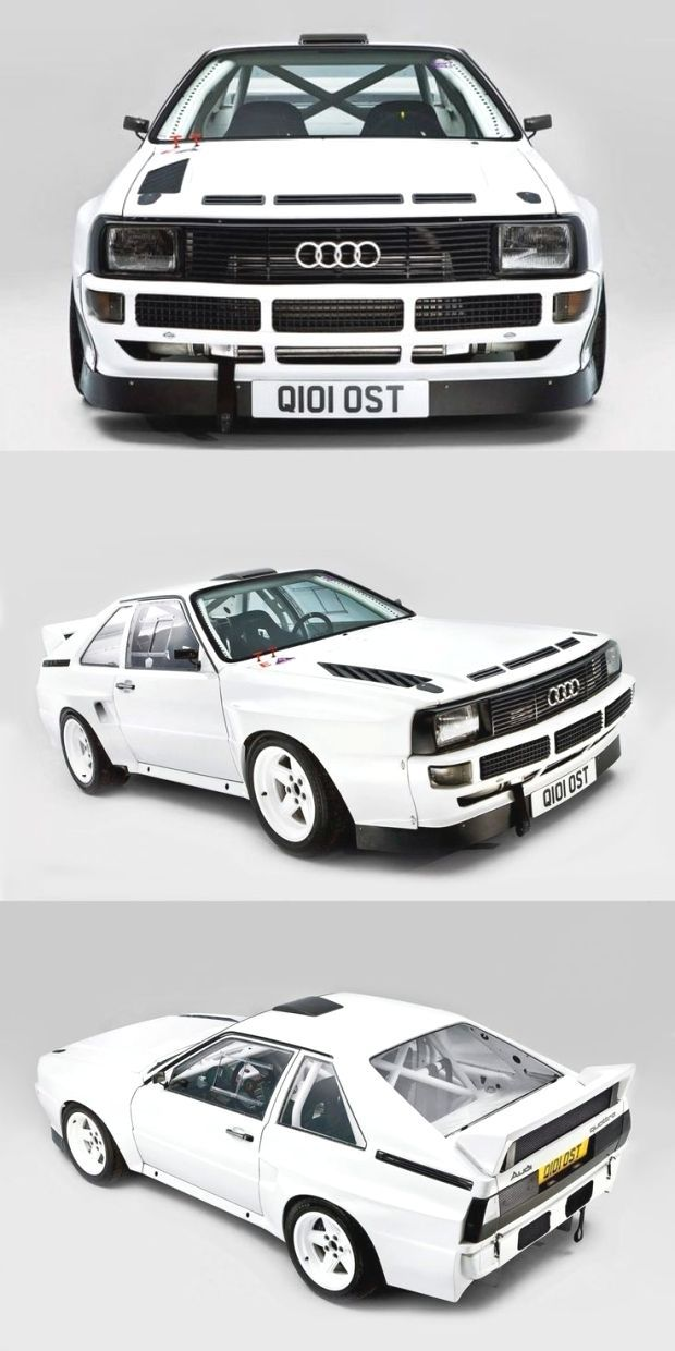 Audi Sport Quattro S1 / Germany / white / 17-412 / group B - -