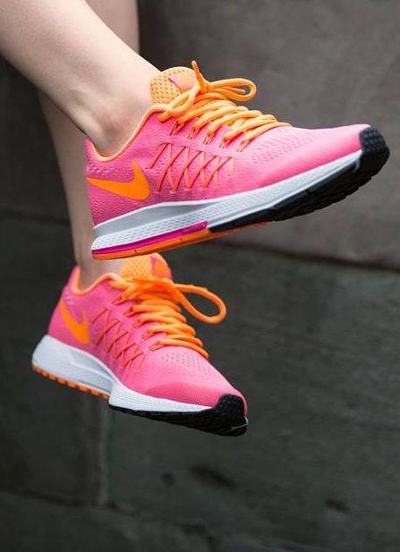 viuda Escritura Dormitorio  Nike Zoom Pegasus 32: Pink | Zapatos, Zapatillas