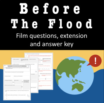 Before The Flood Is An Important Documentary On Climate Change Presented By National Geographic And Starring Leo Before The Flood Climate Change Global Warming