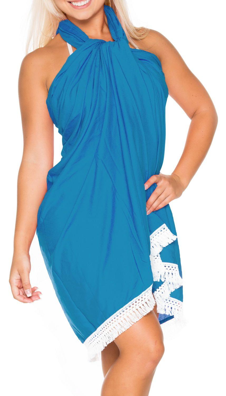 ffd2a135f7 Womens Pareo Wrap Scarf Bathing Suit Swimsuit Swimwear Sarong Bikini Cover  ups#Scarf, #Bathing, #Suit