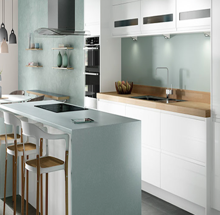 Wickes sofia white kitchen kitchen home for Wickes kitchen cupboards