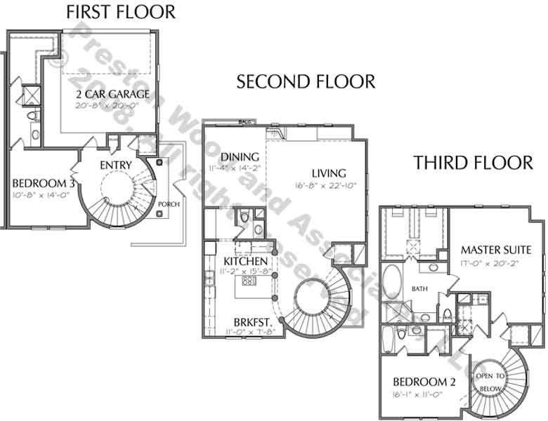 luxury townhome floor plans - Google Search | Home--Floorplans ...