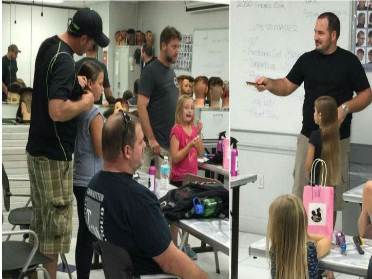 This Dad Teaching Other Dads How To Do Their Daughters' Hair Is The Cutest Thing You'll See All Week