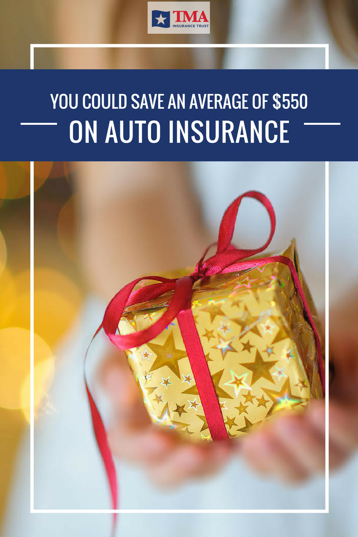 You Could Save An Average of 550 on Auto Insurance and