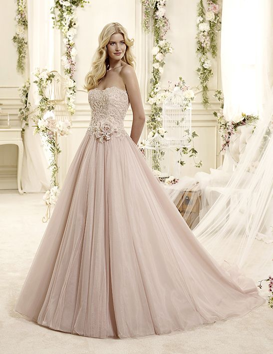 Wedding gown Estelle | Nicole Fashion Group collection 2015 ...