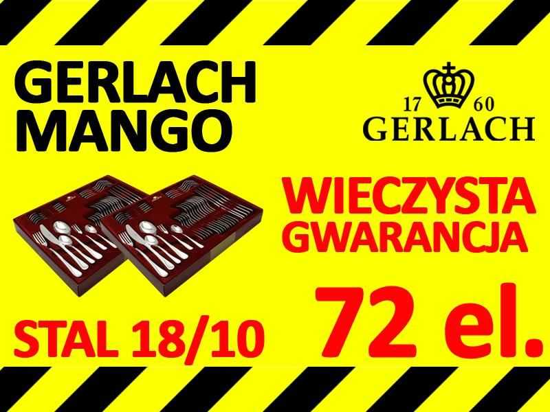 72x Gerlach Mango Sztucce 36x2 Noze Lyzki Promocja 5528207813 Oficjalne Archiwum Allegro Playbill