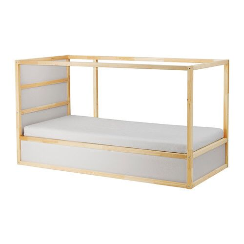 The Kura bed in it's natural state. Ikea at it's very best.