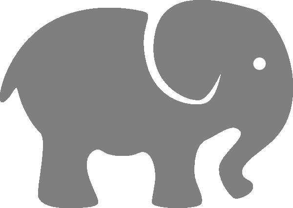 baby room for side of crib pink elephant clip art vector clip art rh pinterest com Cartoon Elephant in the Room Ignore the Elephant in Room Clip Art