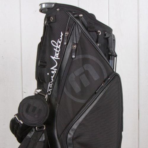Travis Mathew Black Stand Bags