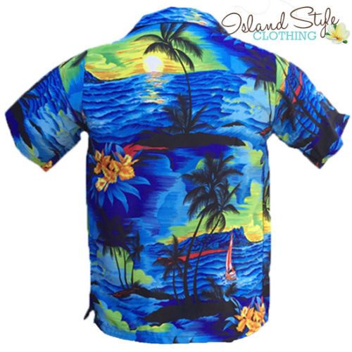 fcf7186bfc1 Blue-Sunset-Boys-Hawaiian-Shirts-Fancy-Dress | Konsert 2019 in 2019 ...
