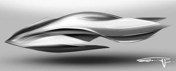 Speed form, Design sketch