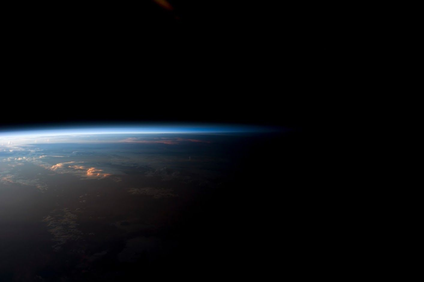 Sunrise Over Bolivia Photographed From The International Space