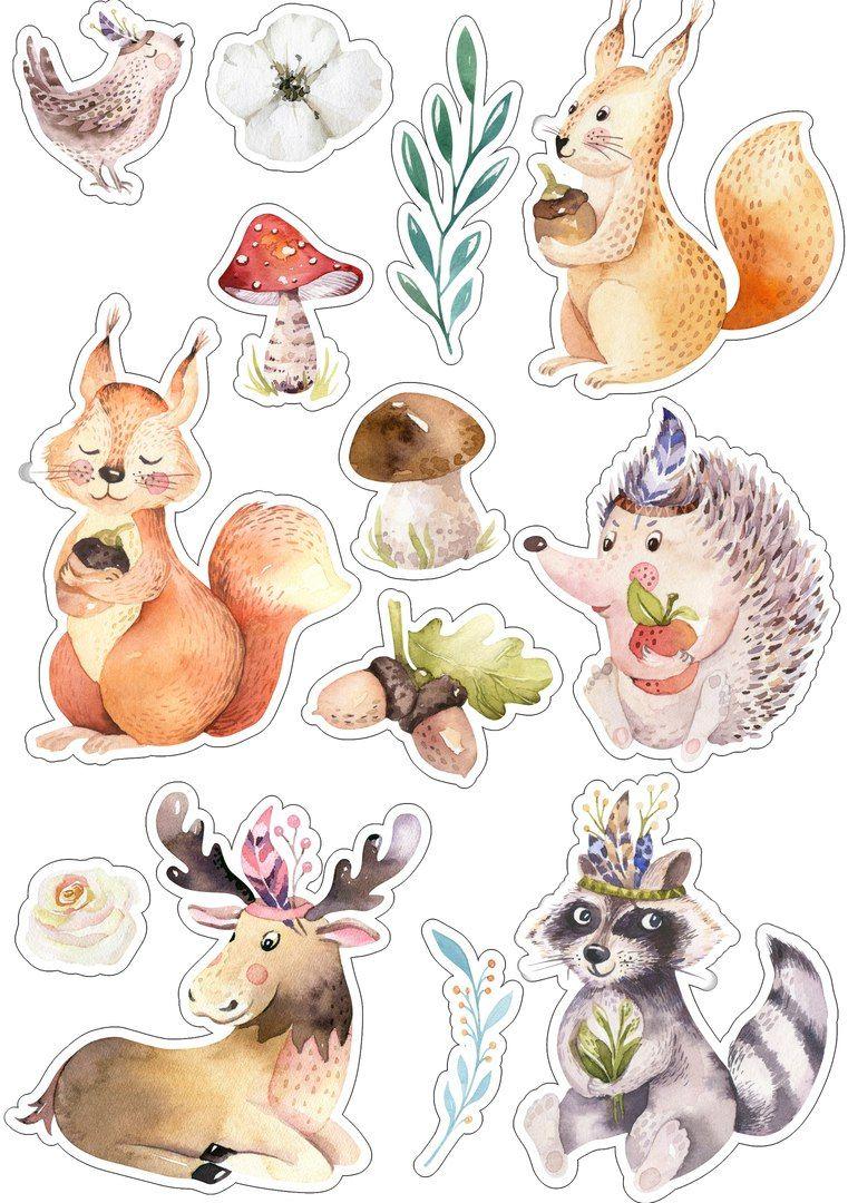 Рисунки животных для скрапбукинга покорит