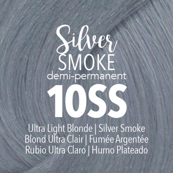 Demi Permanent Silver Smoke Demi Permanent Metallic Hair Color Smoke Hair