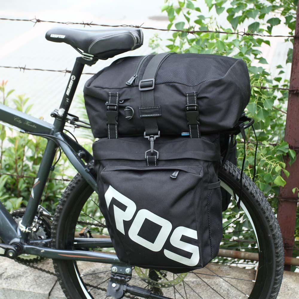 Bicycle Rear Rack Bag Bike Tail Seat Trunk Pack Stroage Pouch Handbag US