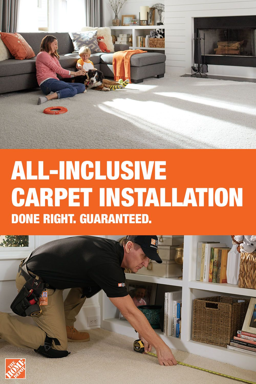 All Inclusive Carpet Install Carpet Installation Carpet Installation