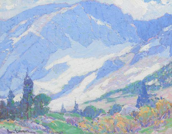 Paul Lauritz, 'First Winter,' oil