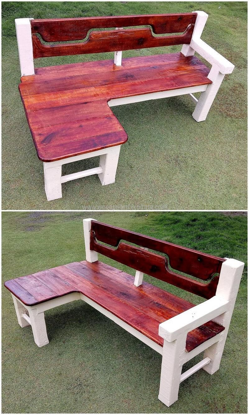 Find These Interesting Ideas For Pallets Recycling Meubles De Patio Palette Mobilier De Salon Banc En Palette