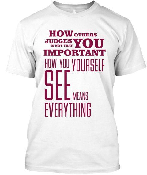 Dont Judge Me 9 White T-Shirt Front   #Howothersjudgeyouisnotimportant #howyouseeyourselfiseverything #yourself #seeyou #judge #important #dontjudgeme #dontjudge #dontjudgeme #dontjudgemequotes #dontjudgequotes #dontjudgemechallenge #dontjudgemememe #inspirationaltshirtquotes #cooltshirtquotes #besttshirtquotesever #tshirtquotesattitude #tshirtswithquotes #tshirtquotessayings #womenstshirtswithsayings #positivemessagetshirts #motivationalteeshirt #spiritualquotes