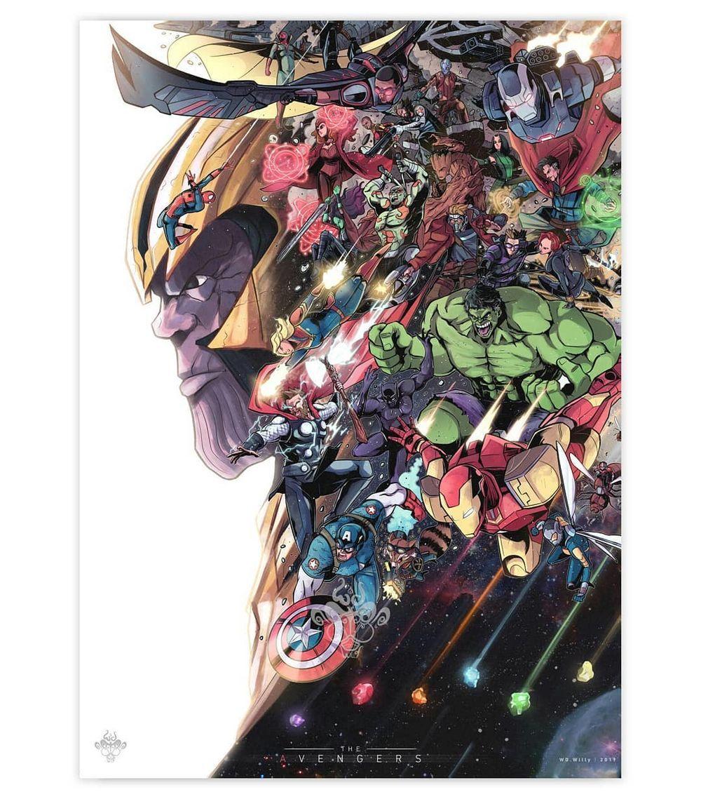 Dessins fanart Avengers : Endgame par Wdwilly