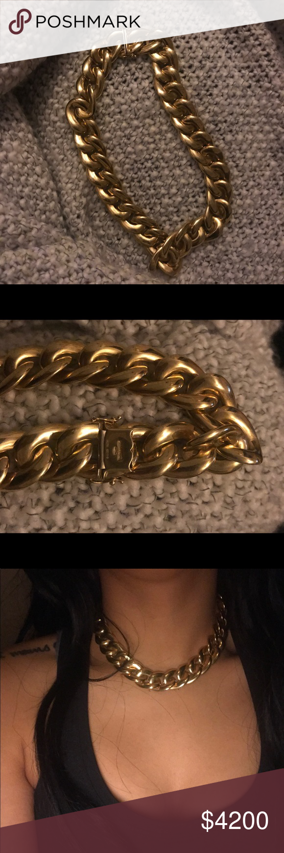 K yellow gold chain k yellow gold solid gold grams
