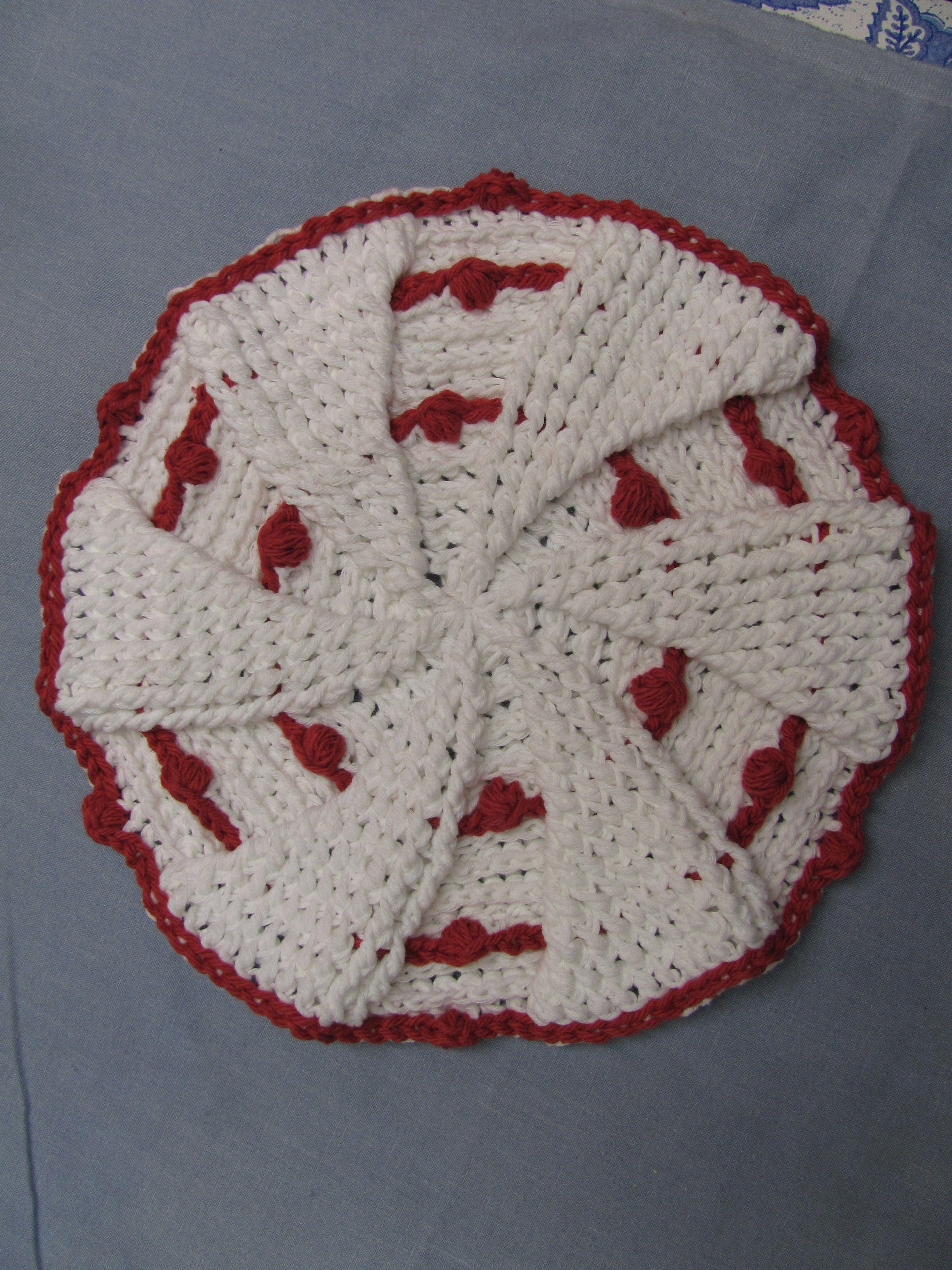 Free Crochet Potholder Patterns Interesting Decorating Design