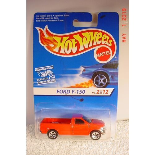 1997 Ford F-150 Red C5S 1/64 #16666 1997 Hot Wheels BP