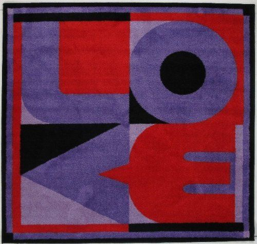 51X51 Area Rug- Love by WMU. $151.70. All of the products showcased throughout are 100% Original Brand Names.. Please refer to the title for the exact description of the item.. High quality items at low prices to our valued customers.. 100% Satisfaction Guaranteed.. We proudly offer free shipping. We can only ship to the continental United States.. Fun Time Shape Collection.Multi-color. 100% Nylon. Quality: high pile.. Save 57%!