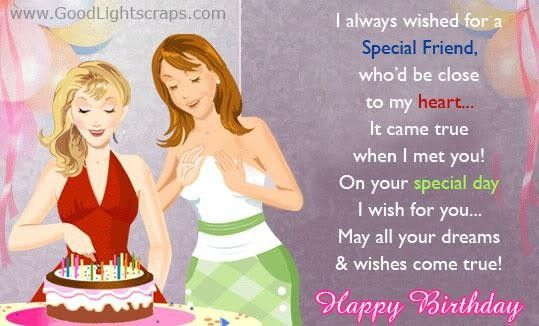 I Always Wished For A Special Friend Whod Be Close To My Heart