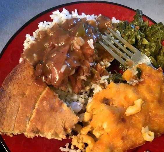 This past Sunday I cooked a hearty meal of smothered ...