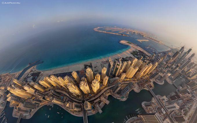 Aerial Panoramic View Of Dubai Marina And Jlt Panoramic Views Aerial Dubai