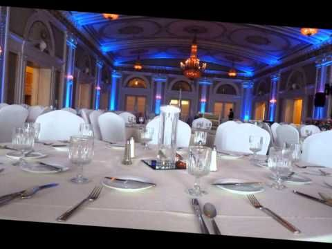Duluth Event Lighting: up lighting at Greysolon Ballroom pt2