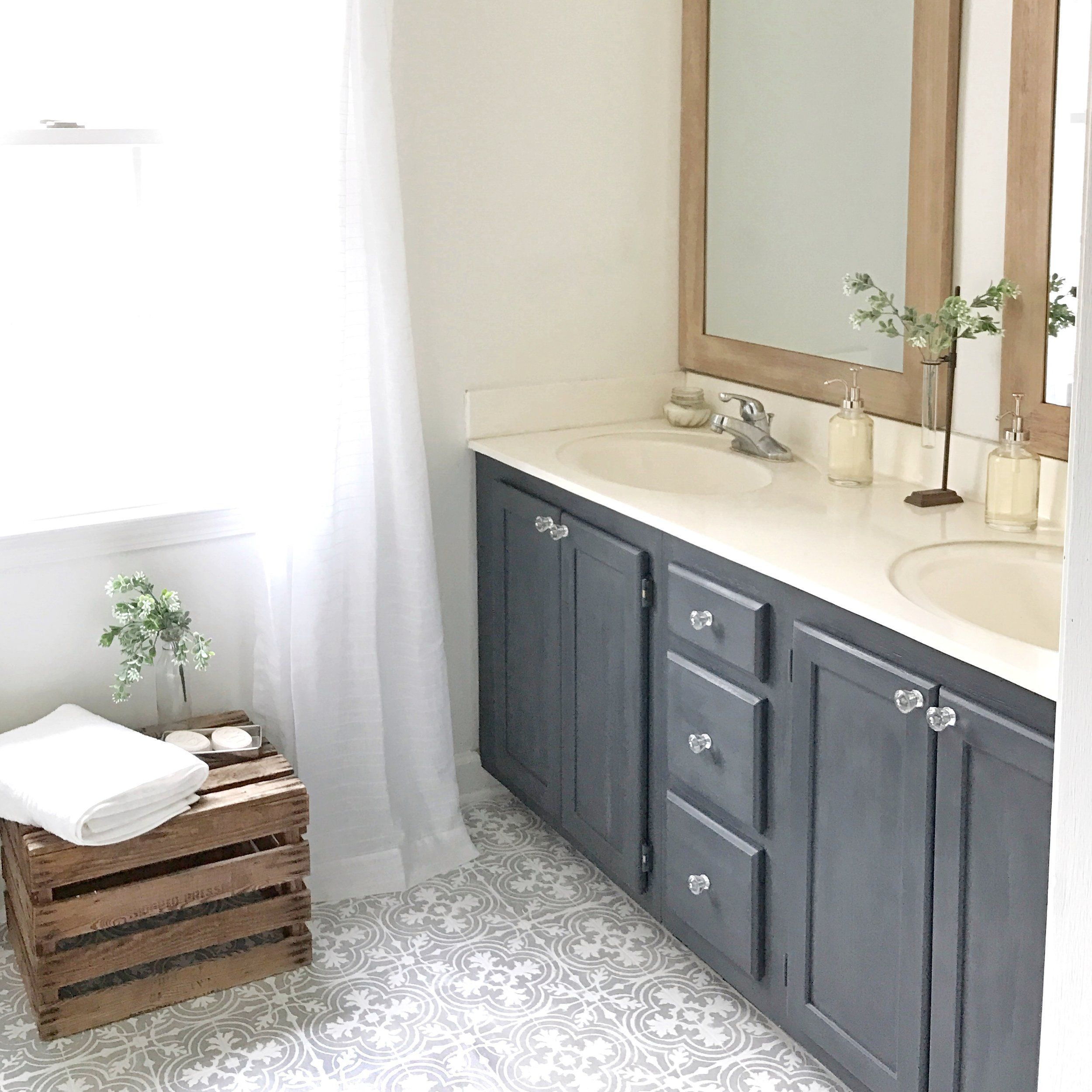 Wunderbar How To Paint Your Linoleum Or Tile Floors To Look Like Patterned Cement  Tiles  Full Tutorial | Plum Pretty Decor U0026 Design Co. | Pinterest