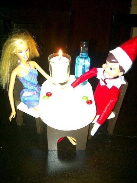 Elf on the shelf dating