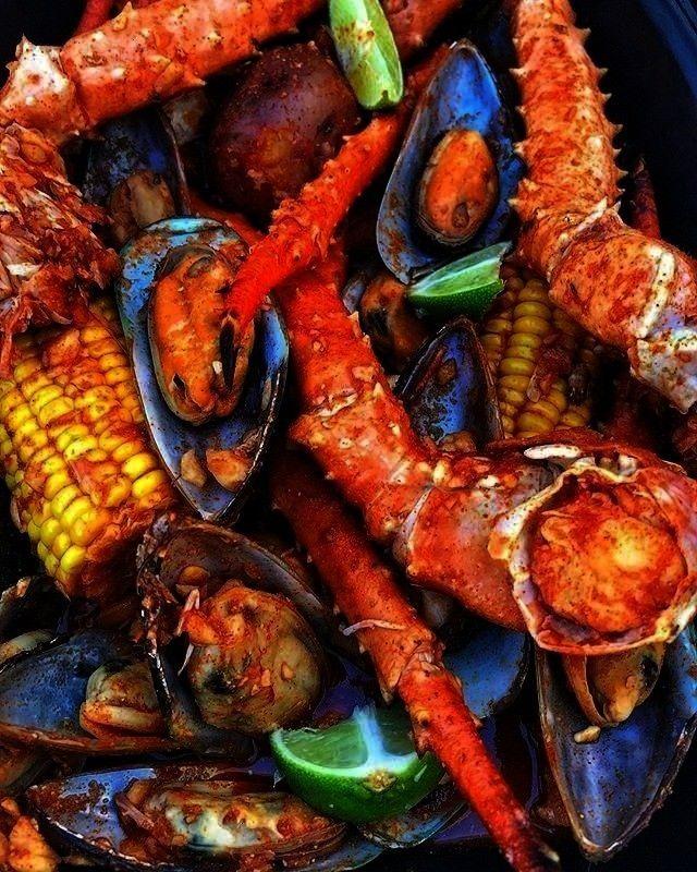 #greensriracha #cajunseafood #seafoodboil #yousweet #someheat,  #cajunseafood #greensriracha ... #seafoodboil