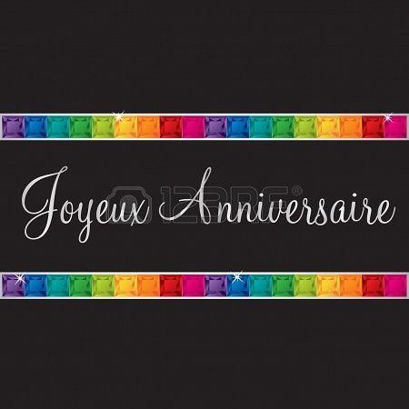 Feliz Cumpleaños En Francés Feliz Cumpleaños Tarjetas De