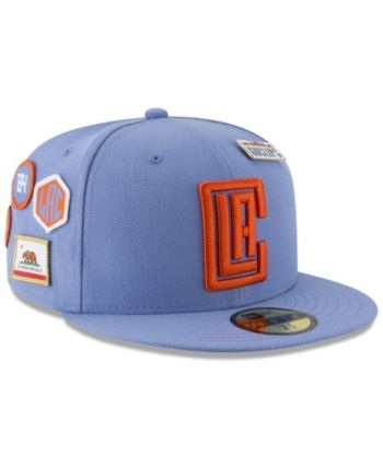 huge discount da87c 41e63 New Era Los Angeles Clippers City On-Court 59FIFTY Fitted Cap - Blue 7 3 8